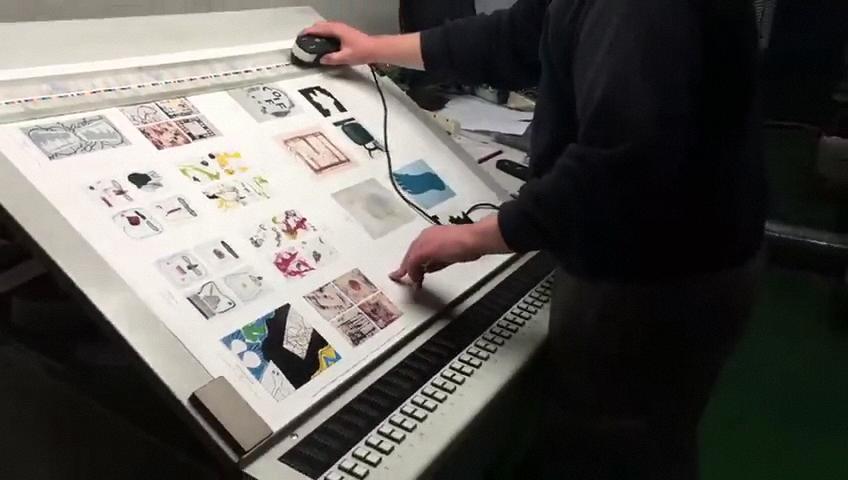 ¿Como funciona una imprenta por dentro?
